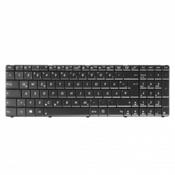Green cell ® keyboard for laptop asus a52 f50 f55 f70 f75 x54c x54h