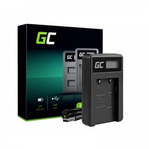 Camera battery charger cb-2lw green cell ® for canon nb-2l / nb-2lh, powershot g7 g9 s70 s80 r100 r11 canon elura 85