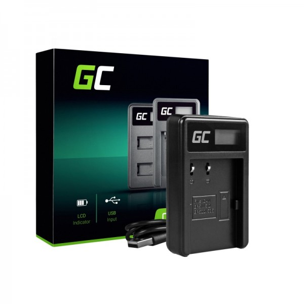 Camera battery charger cb-5l green cell ® for canon bp-511, eos 5d, 10d, 20d, 30d, 50d, d30, 300d, powershot g1, g2